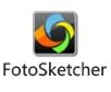 FotoSketcher  v3.60 绿色版 - 图片素描化工具