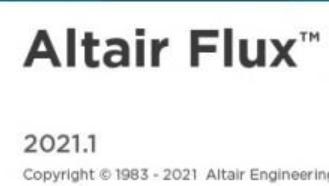 Altair Flux 2021.1 - 电磁和热力学仿真软件