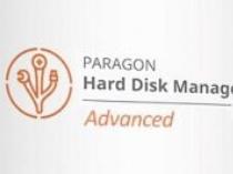 Paragon Hard Disk Manager 17 Advanced - 硬盘管理器