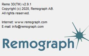 Remograph Remo 3D V2.9.1 绿色版_高效的3D建模工具
